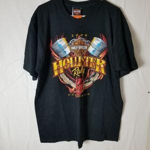 NWT Mens Harley Davidson Tshirt Large